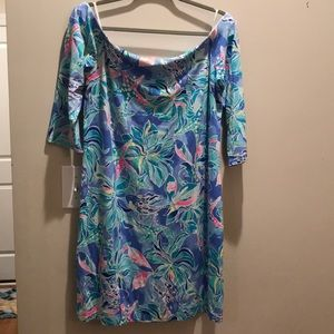 XL Lilly Pulitzer Off the Shoulder Dress